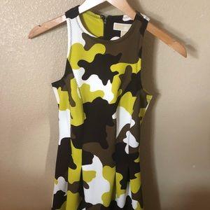 Michael Kors Kamouflage Dress